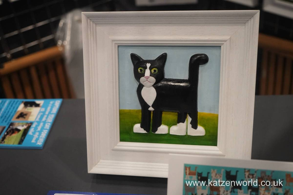 Friday Art Cat: The Background Story to Custom Cats by Rolfe Mooney